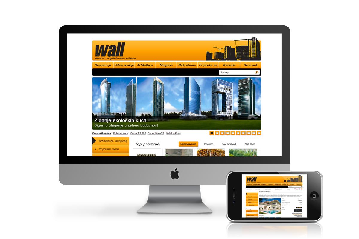 Wall – Gradnja Online portal