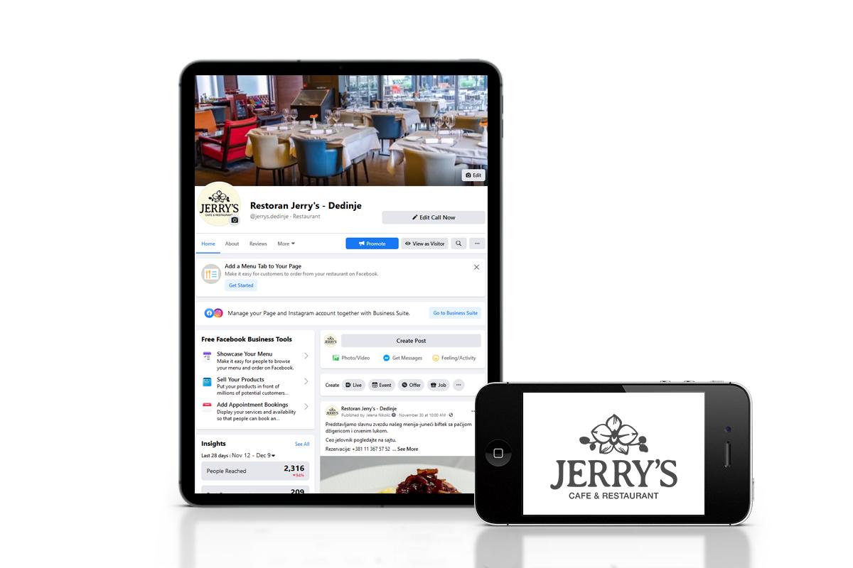Restoran Jerry's – Dedinje